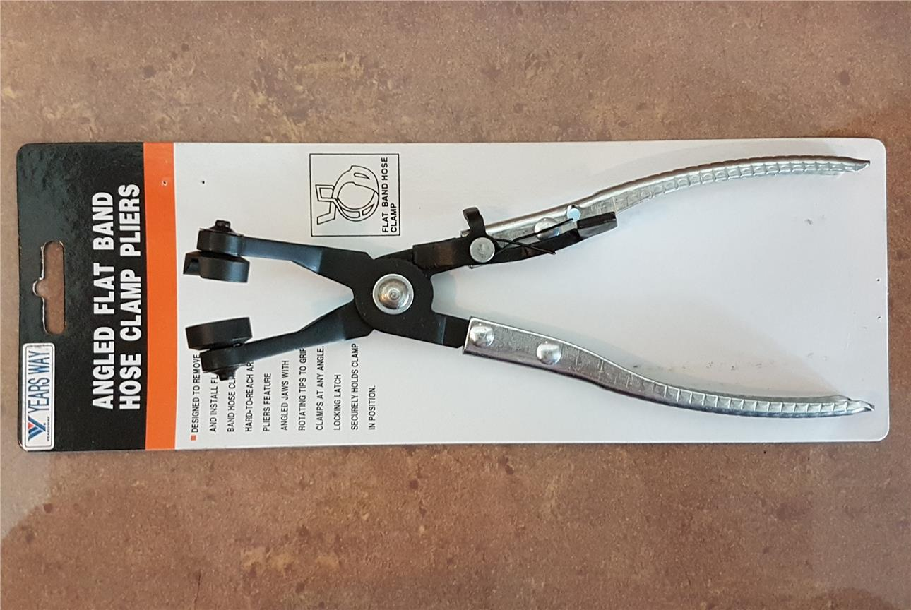 Taiwan Yearsway Curved Hose Clamp Pliers ID443834