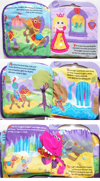 The Tale Of Sir Prance Cloth Book for Baby