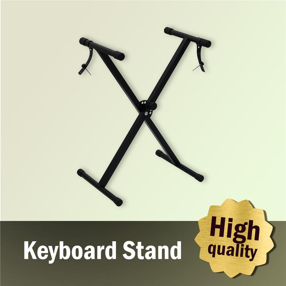 Taloha Portable Single X Solid Heavy Duty Music Keyboard Piano Stand