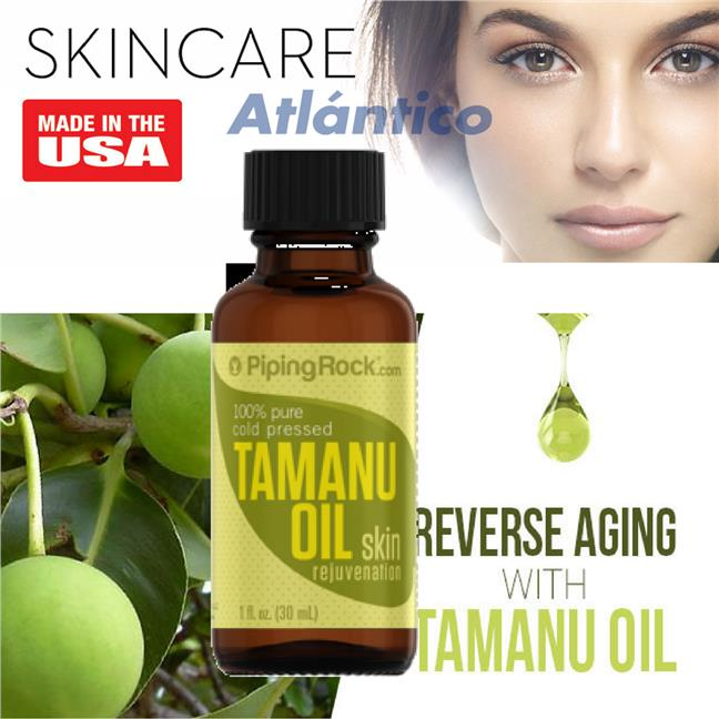 Tamanu Oil 100% Pure 30mL Dropper Bottle (Skin Moisturising)