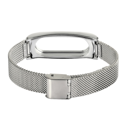 TAMISTER Stainless Steel Net Strap Magnetic Back Cover Replacement Wristband f