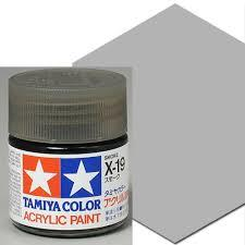 Tamiya Acrylic X-19 Smoke (10ml)