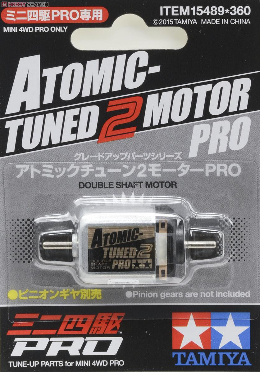 Tamiya Atomic Tuned 2 Motor Pro Mini 4WD Pro 15489 Double Shaft