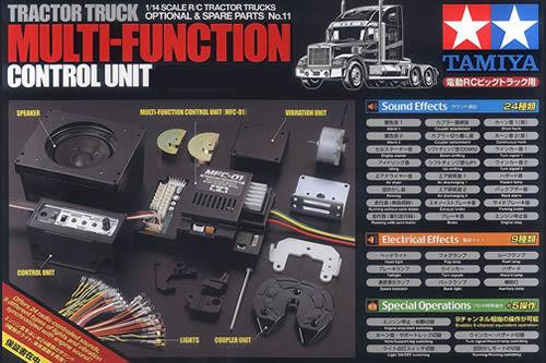Tamiya multi function control for 1/14 tractor truck