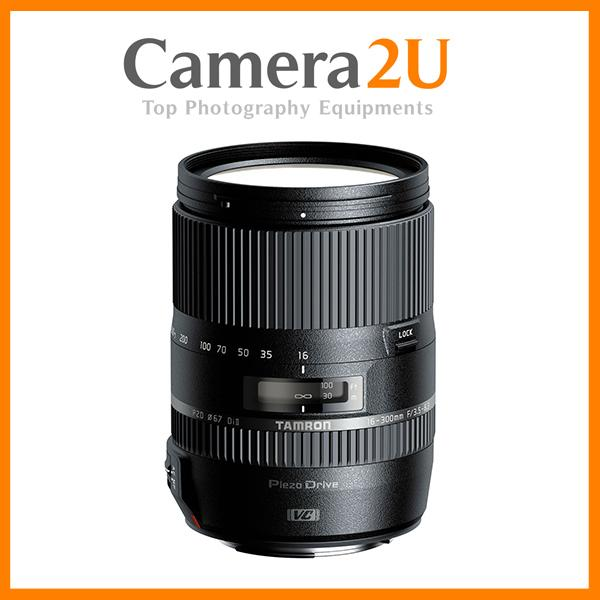 NEW Tamron 16-300mm f/3.5-6.3 Di II Macro VC PZD Lens For Canon