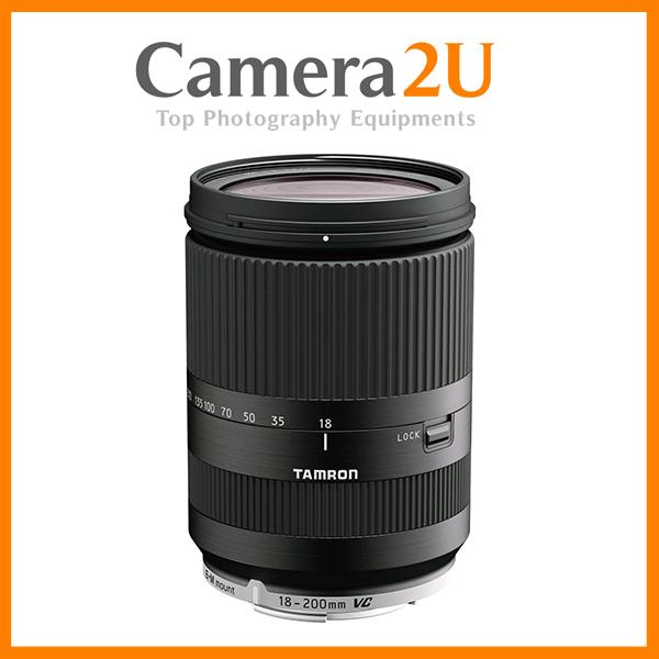 NEW Tamron 18-200mm f/3.5-6.3 Di III VC for Canon EOS M (Black)