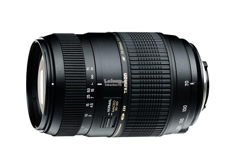 TAMRON 70-300mm F/4-F/5.6 Di LD Marco Camera Lens *5 Years Warranty*