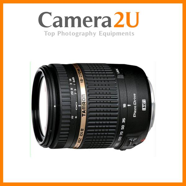 NEW Tamron AF 18-270mm f/3.5-6.3 Di II VC PZD Lens For Canon Mount