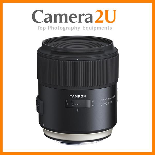 NEW Tamron SP 45mm f/1.8 Di VC USD Lens for Canon EF