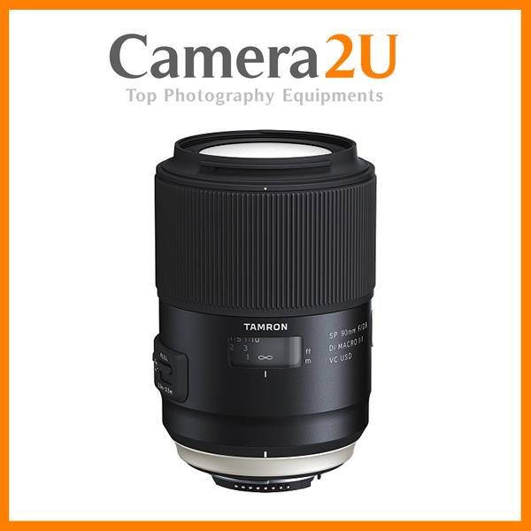 Tamron SP 90mm F2.8 Di Macro VC USD Lens For Nikon Mount (Model F017)