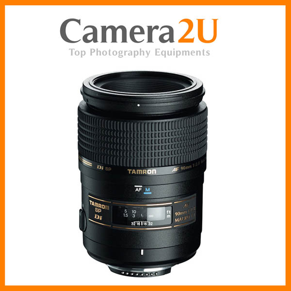 NEW Tamron SP AF 90mm F/2.8 Di Macro 1:1 Lens For Canon Mount
