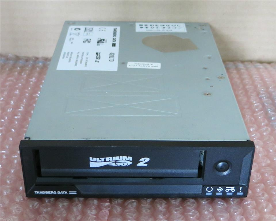 Tandberg Data 420LTO Ultrium 2 Internal SCSI Data Tape Drive Black 500