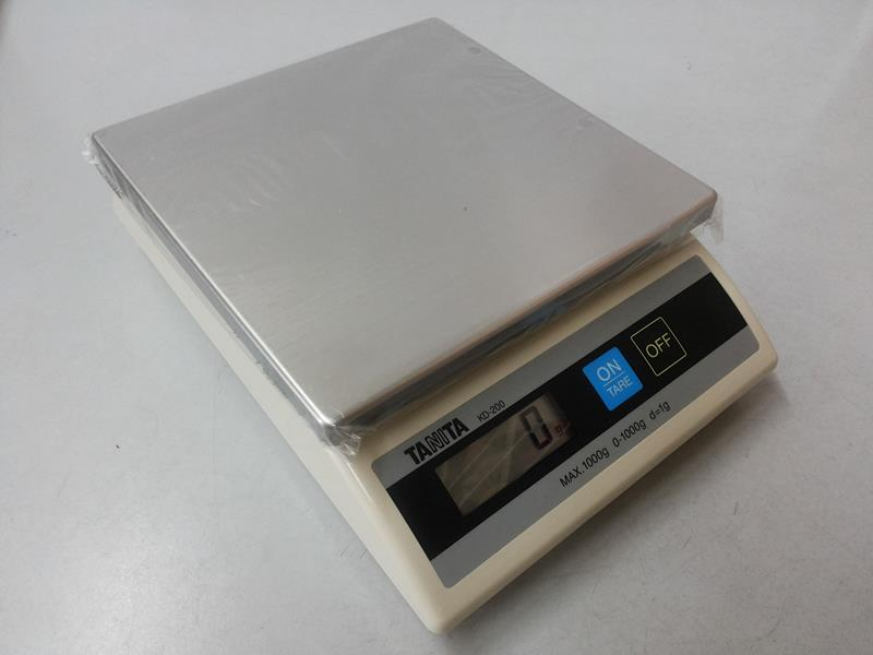 Tanita Electronic Kitchen Weighing Scale 1kg 1g 5kg 2g 5g