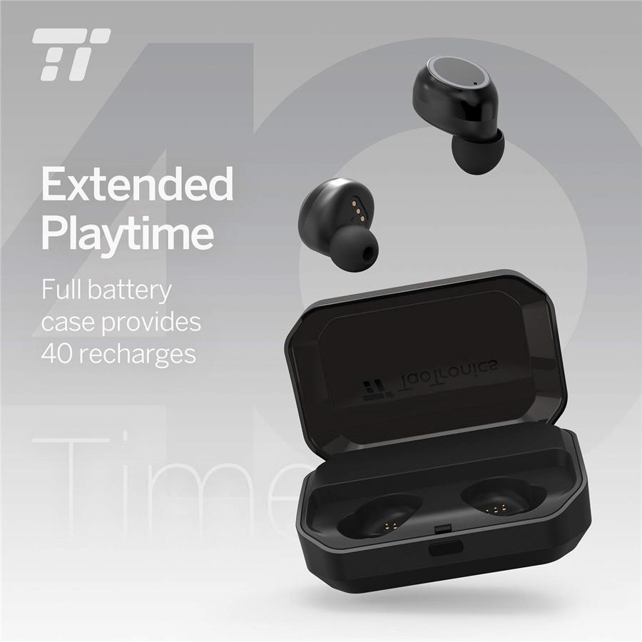 TaoTronics BH052 TWS Wireless Earbuds + Powerbank Bluetooth, Earbuds