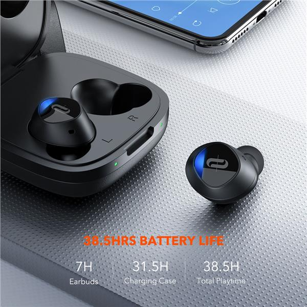 TaoTronics BH063 Duo Free+ TWS Wireless Earbuds Earphones With Mic