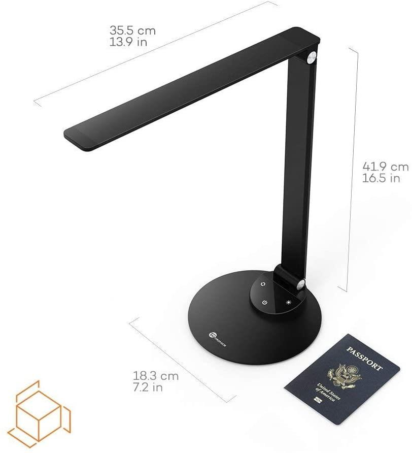 TaoTronics DL19 9W Desk Lamp Aluminum Alloy Dimmable LED Table Lamp