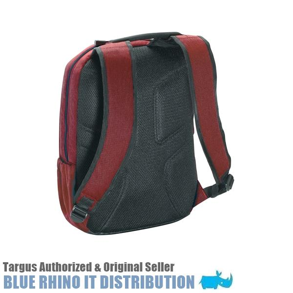 "Targus 15.6"" Groove X Compact Laptop Bag/ Backpack - Red (TSB82705)"