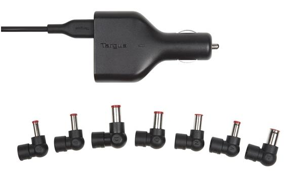 TARGUS CAR CHARGER FOR LAPTOP & USB TABLET 90W APD046AP