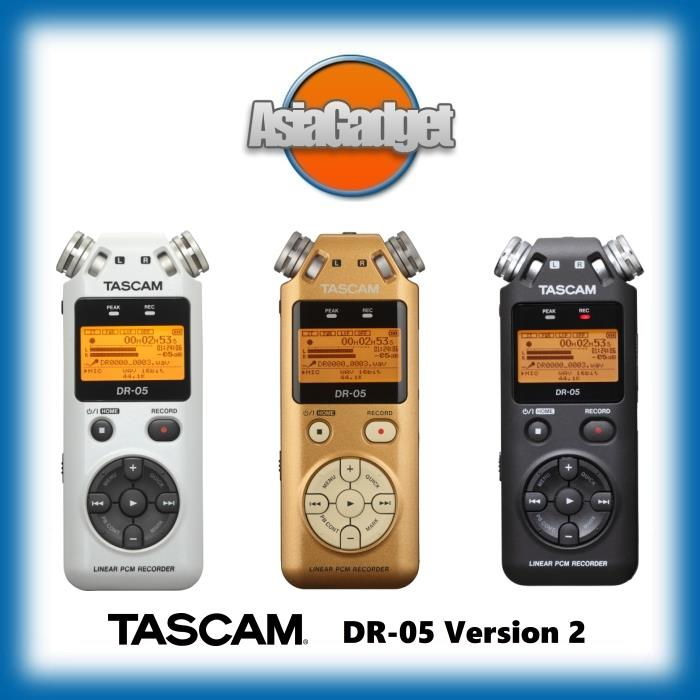 TASCAM DR-05 (VERSION 2) LINEAR PCM FIELD RECORDER