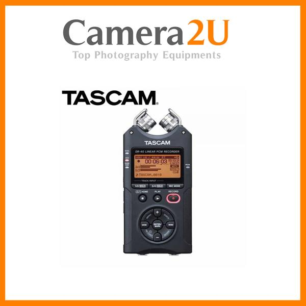Tascam DR-40 Linear PCM Handy Recorder