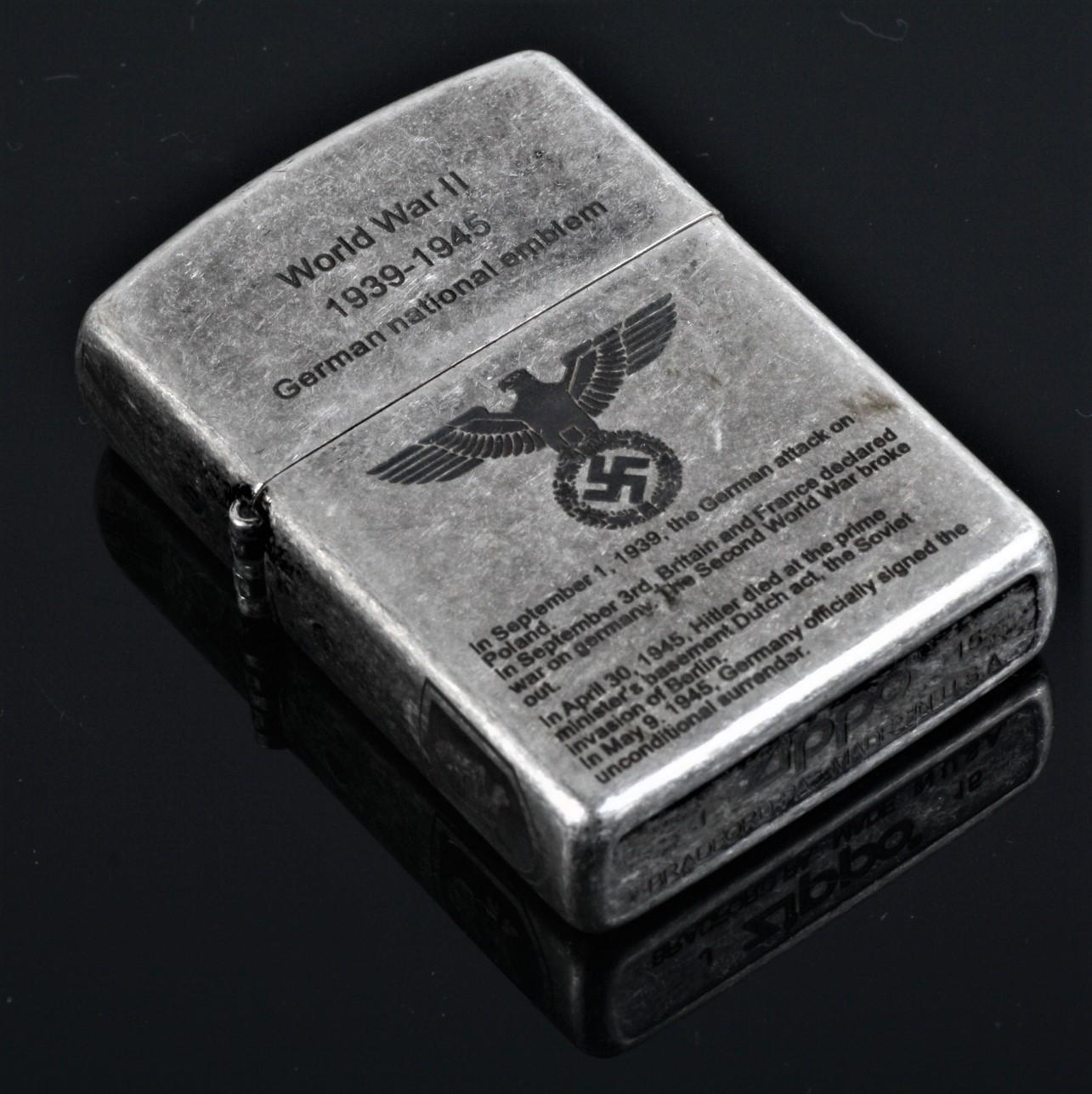 new tattoo world war ii german emblem zippo lighter