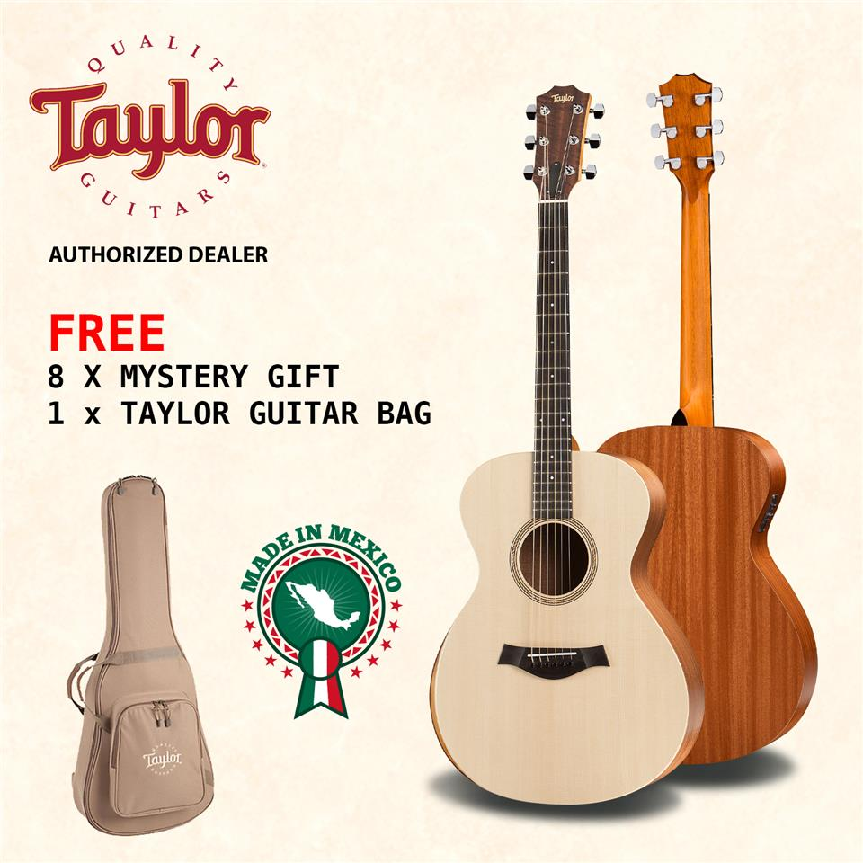 TAYLOR Acoustic Guitar Academy 12E with Pickup + Bag