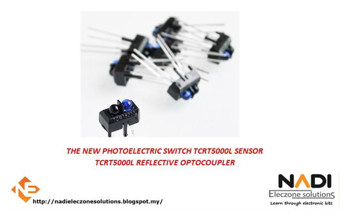 TCRT5000L Reflective Photoelectric Switch Infrared Optical Sensor