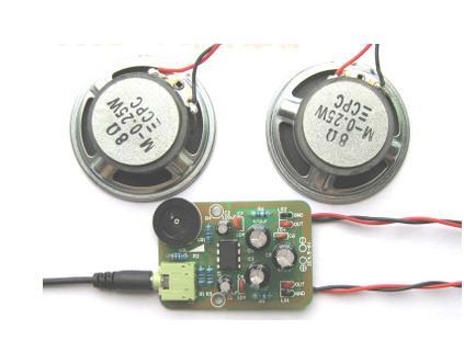 TDA2822M Stereo Audio Power Amplifier DIY Kit