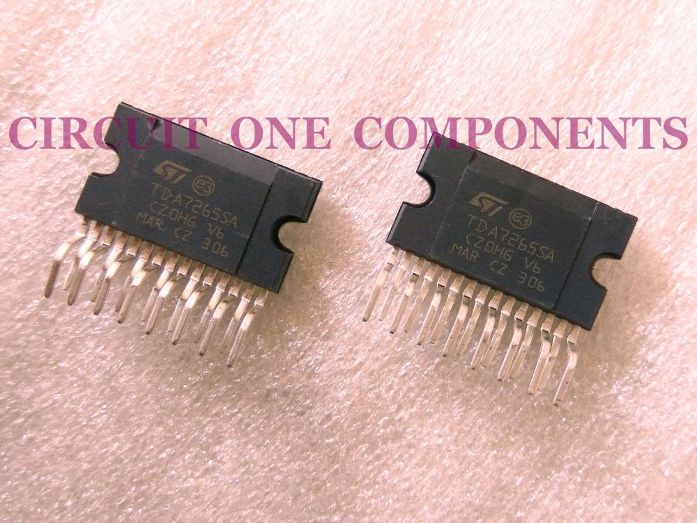 TDA7265SA / TDA7265 Audio Power Amplifier IC - Each