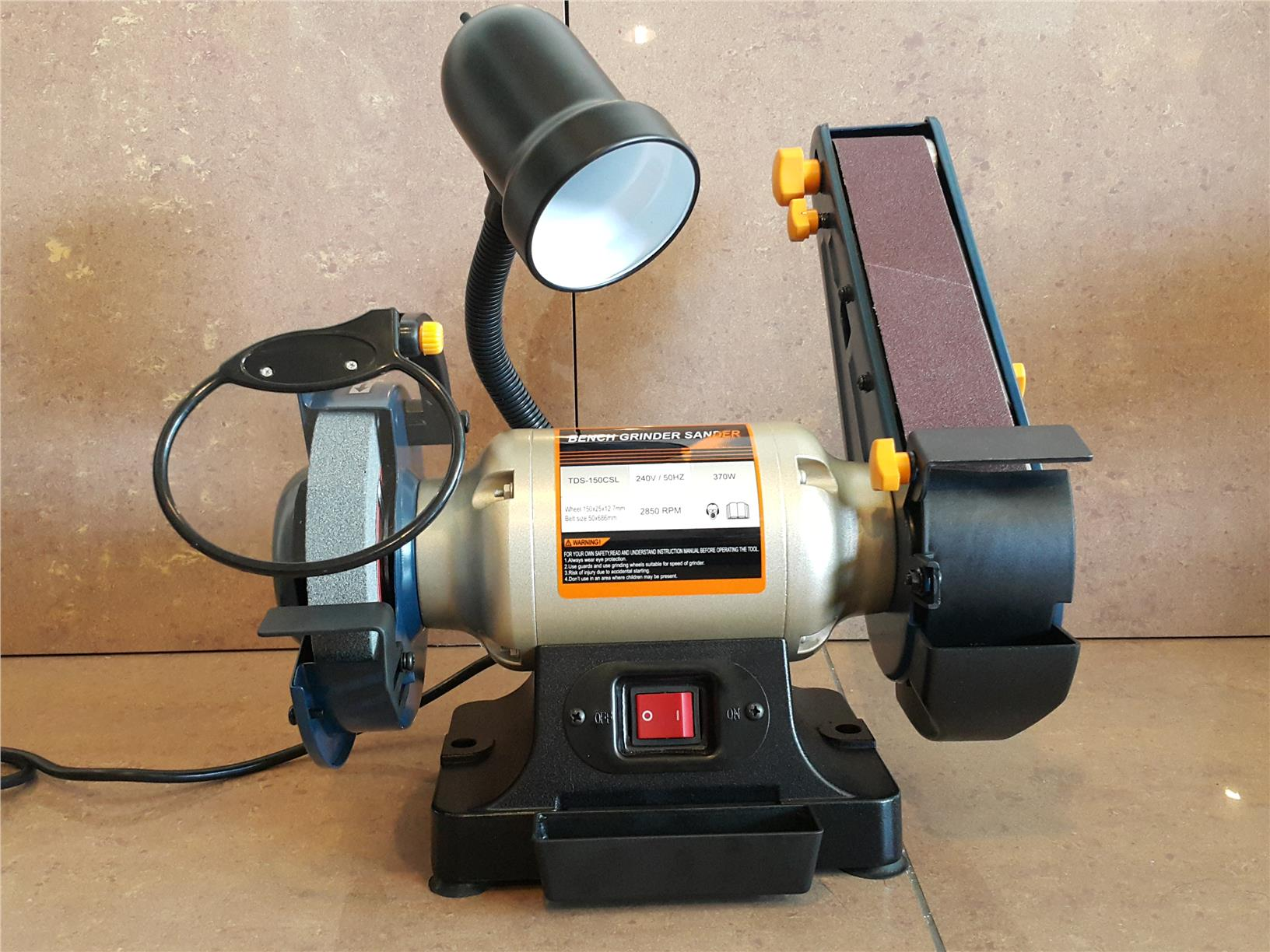 "TDS-150CSL 6"" Grinder Sander with Work Light ID448754"