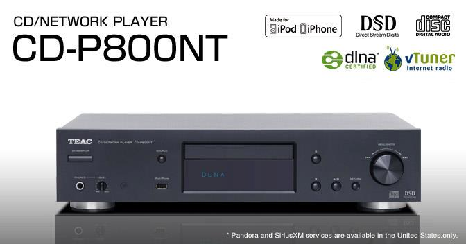 TEAC CD-P800NT / CDP800NT CD and Network Player (PM for Best Price)
