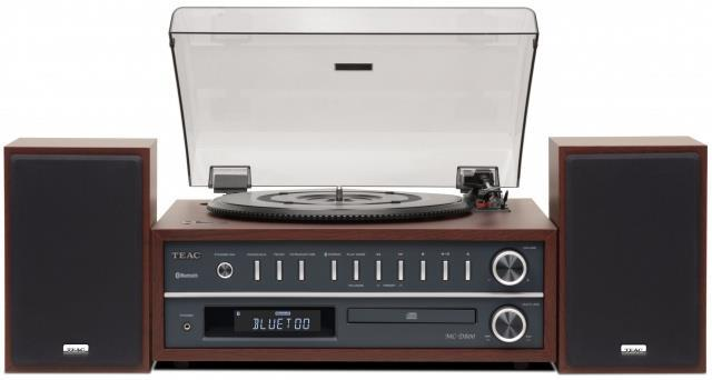 TEAC MC-D800-CH Turntable System  Bluetooth Speaker Purchased@Jan-2018