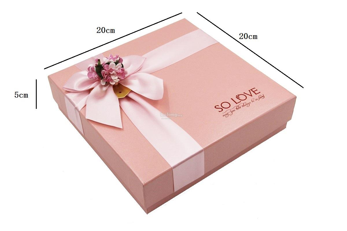 Teacher S Mother S Day Gift Pink Gift Box Soap Rose Flower Set