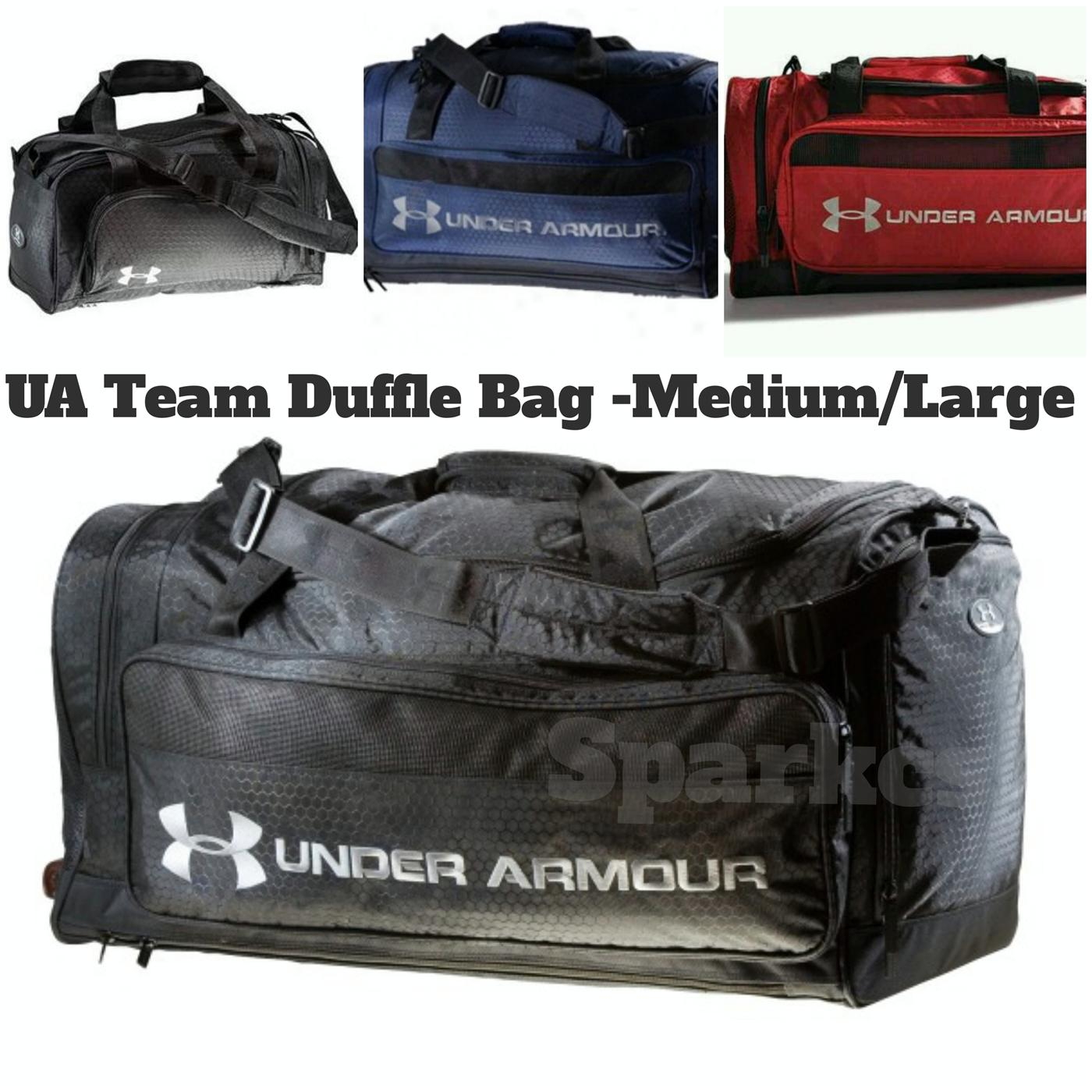 Team Duffle Bag Medium Large Gym Soccer Rugby Basketball. ‹ › 287b003fb66be