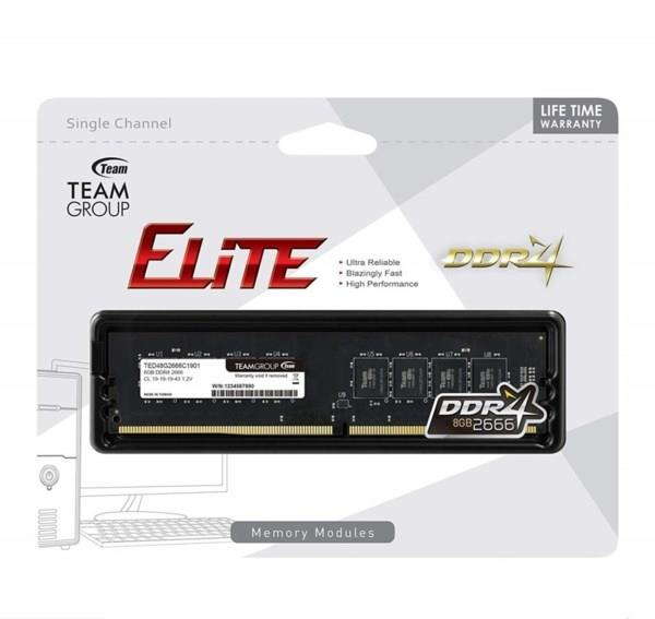 TEAM ELITE 4GB/8GB DDR4 2666MHZ DESKTOP RAM