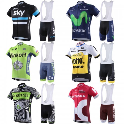Team pro cycling jerseys BIB set men (end 9 5 2019 3 57 PM) 0d7811c9a