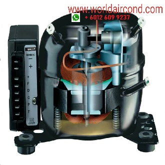 Tecumseh Scroll Rotary Compressor