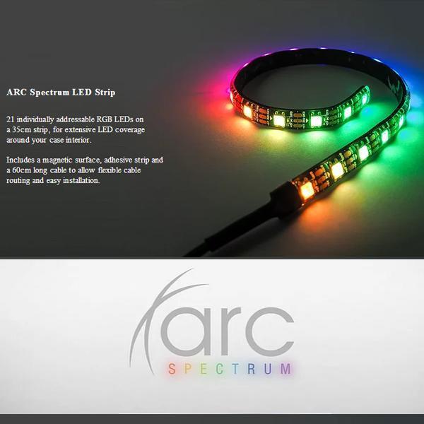 Tecware Arc Spectrum F3 ARGB Starter Pack (4 Fans + Hub + Controller)