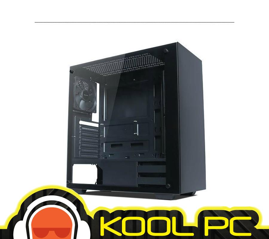 * TECWARE NEXUS TG BLACK ATX GAMING CASE