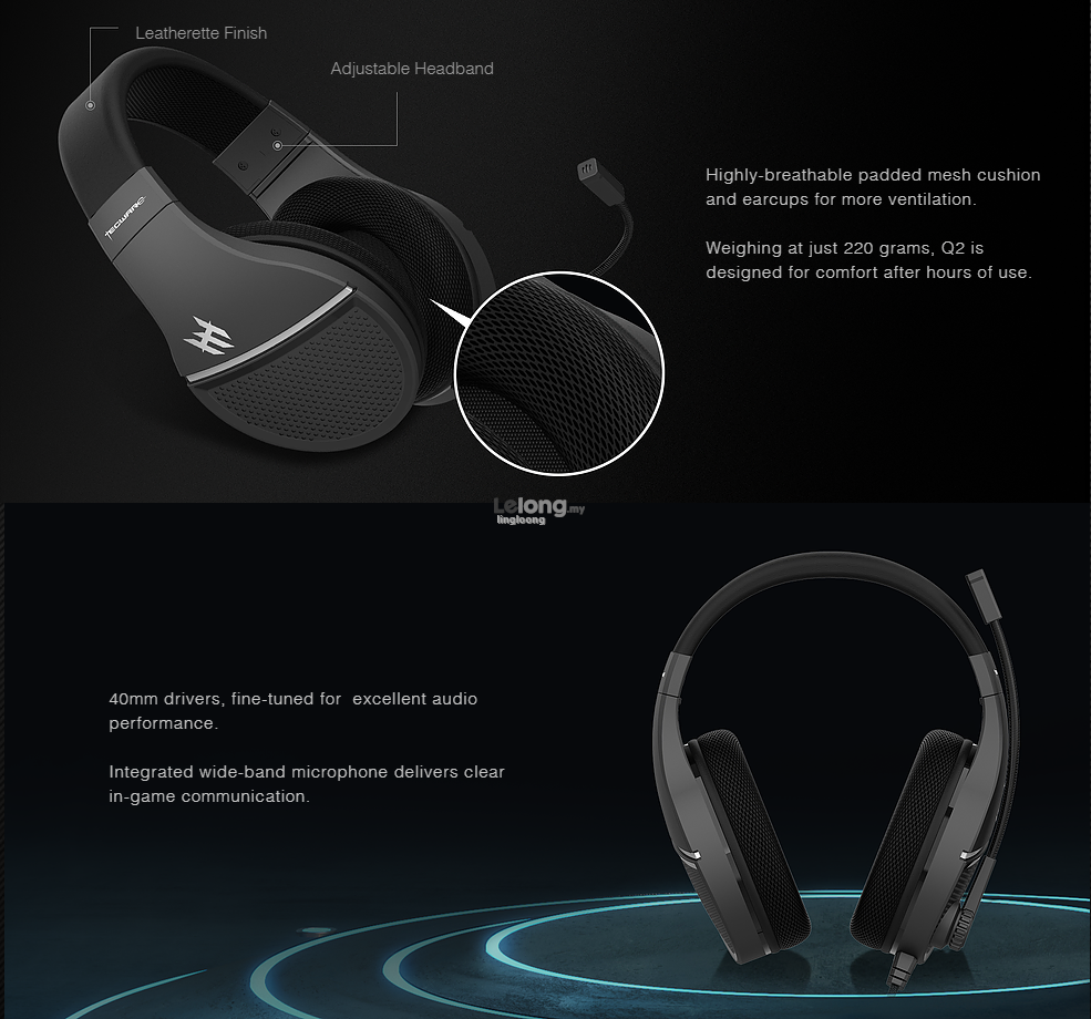 # TECWARE Q2 Gaming Headset # MOST VALUE IN MARKET!!!
