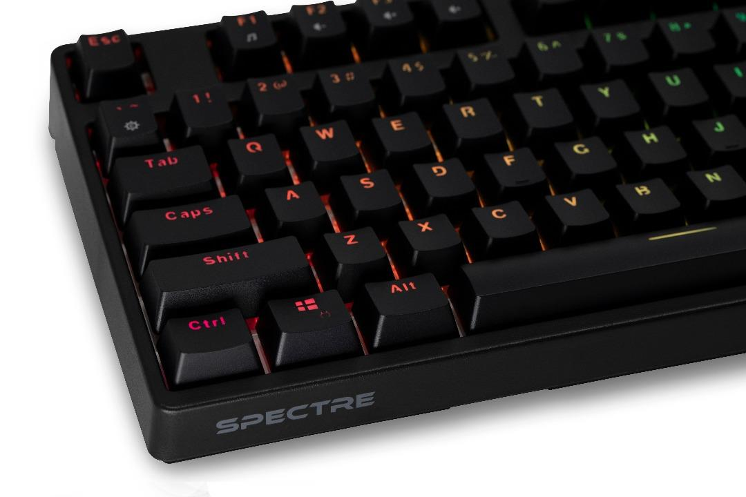 Tecware SPECTRE RGB Mechanical Gaming Keyboard (Brown Switch)