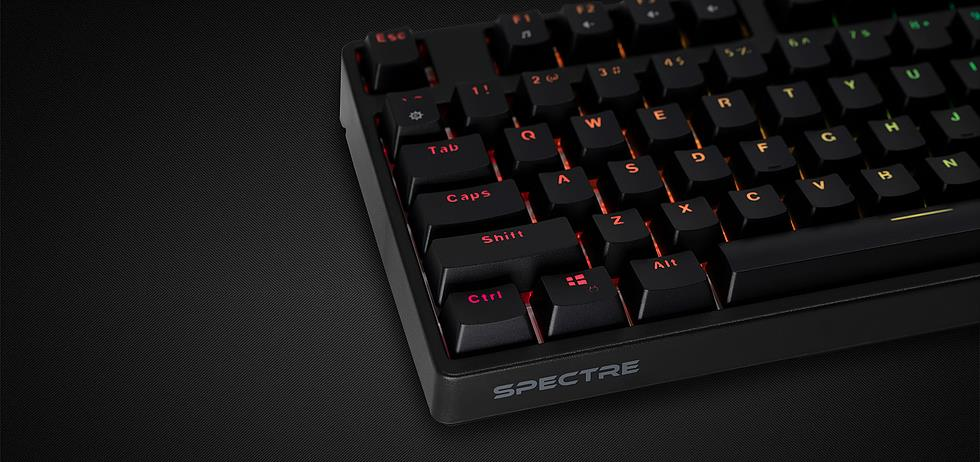 TECWARE SPECTRE RGB MECHANICAL KEYBOARD