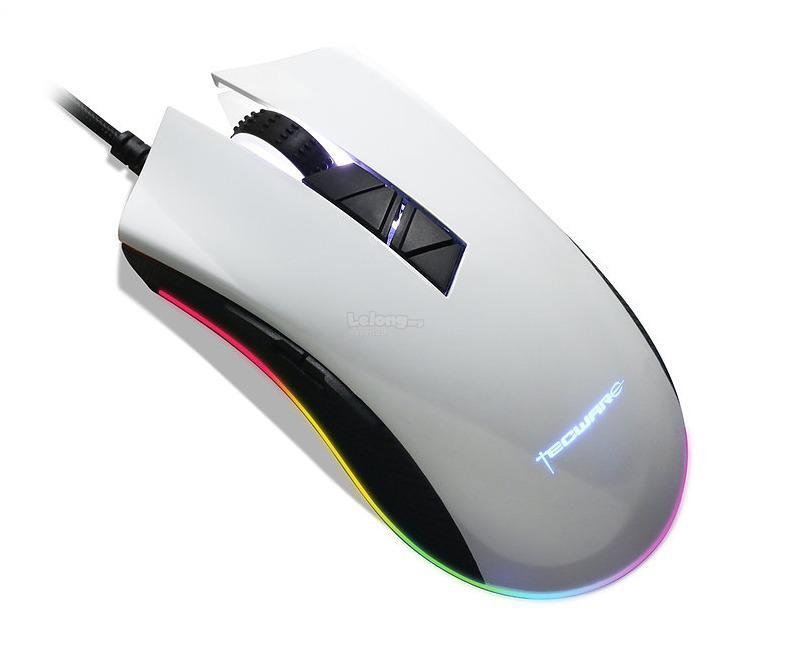 TECWARE TORQUE+ RGB GAMING MOUSE - WHITE