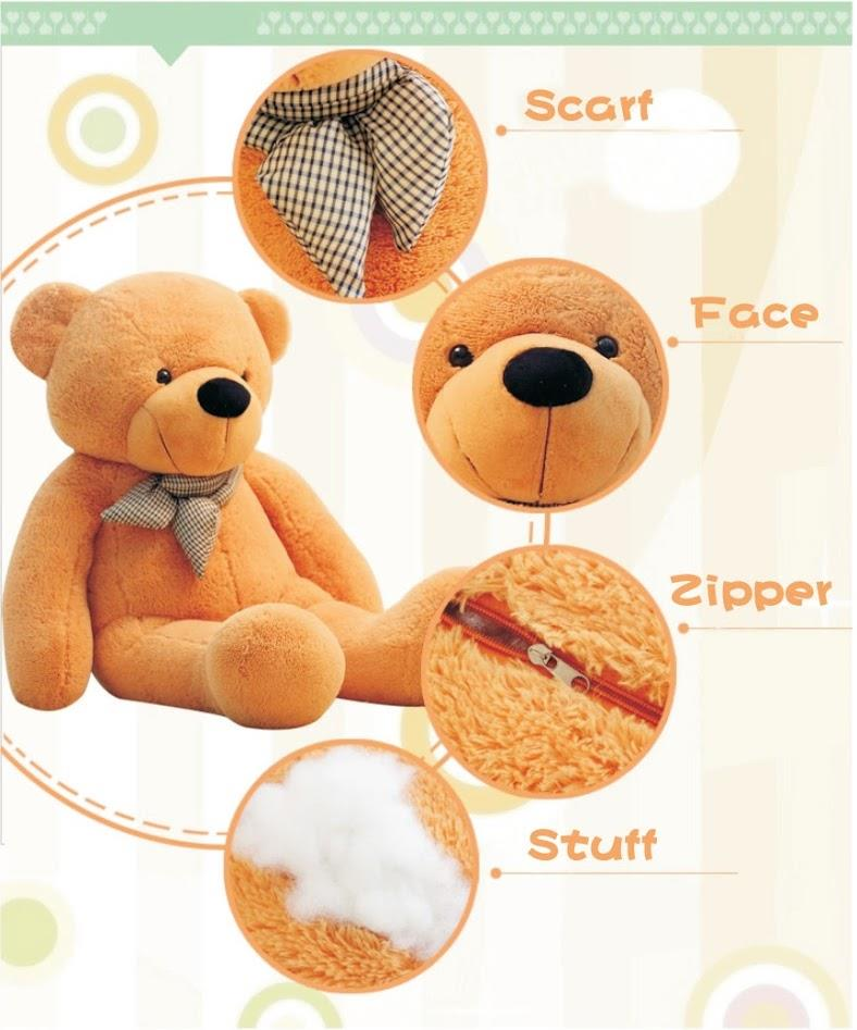 71abbe24c05 Teddy Bear 0.6m 0.8m 1.0m 1.2m 1.6m (end 11 18 2019 2 15 PM)