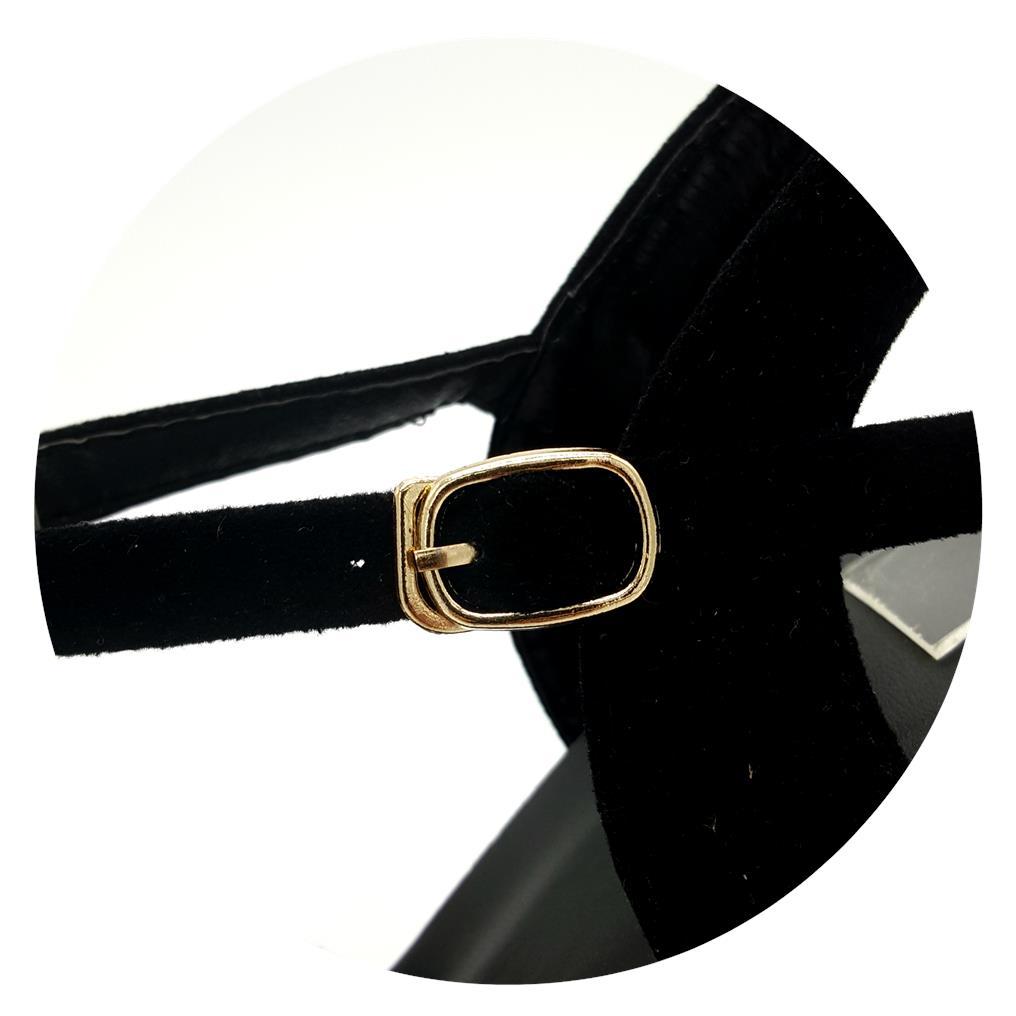 d1ae99a26cb5 Teddy Women X-strap Velvet Buckle h (end 4 26 2021 12 00 AM)