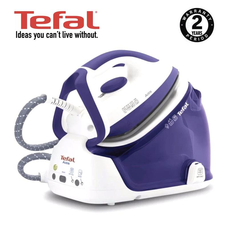 Tefal Actis Steam Generator GV6340, 2200W Light, Compact & Fast Heat