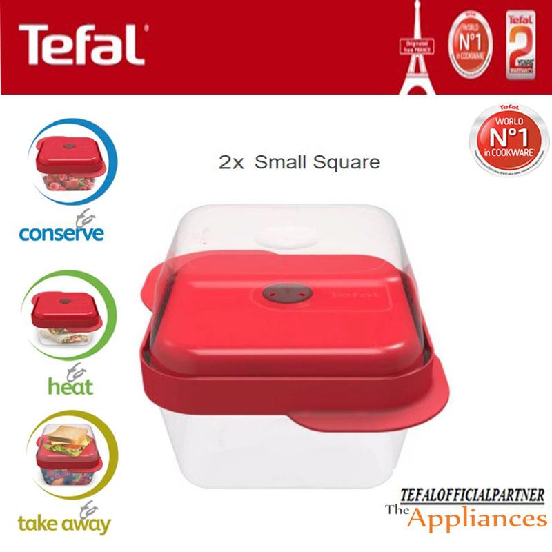 Tefal Master Seal 2 Small Square Red end 982018 515 PM