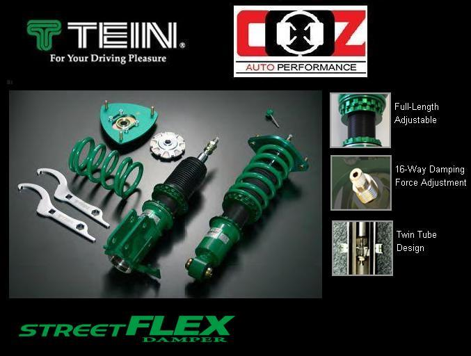 TEIN STREET FLEX ADJUSTABLE SHOCK ABSORBER SUBARU IMPREZA VERSION 7,8