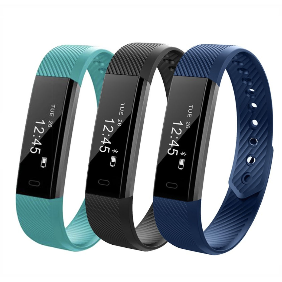 Tekkashop Gadget Gift ID115 PRO Fitness Tracker Smart Watch Wristband