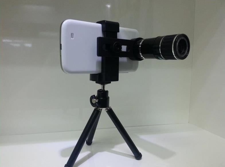 Universal optical zoom telescope mobile phone camera lens u